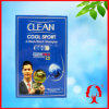 Clean Cool Sport-a Wash Black Shampoo 30ml/Pcscosmetics