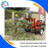 Mobile Driven by Diesel Enginee Corn Stalk Chaff Cutter