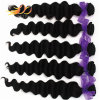 100% Virgin Human Hair Weave Loose Deep Cambodian Hair Extension
