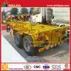 Skeleton Type 20feet Container Transport Semi Trailer