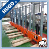 1 Ton 1.6m Hand Forklift Hydraulic Pallet Stacker Manual Hand Stacker Forklift Price
