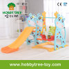 2017 Deer Style Plastic Children Slide with Swing (HBS17006B)