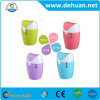New Design Plastic Creative Touchless Trash Can with Lid