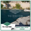 Green & Black PP Mesh Safety Cover Material