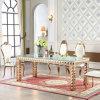 Modern Furniture Royal Glass Modern Dining Room Table