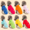 Fashion Pet Design Tee Printing Sailor Dog Polo Shirt