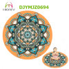 Custom Printed Round Yoga Mat Meditation Mat Carpet Deco Mat