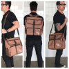 Professional Crossbody Tote Mens Diaper Backpack Bag with Changing Pad