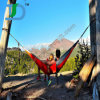 Outdoor Camping Nylon Hammock for 2 People