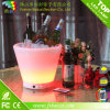 PE Material Waterproof Rechargeable LED Ice Bucket
