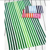 Cotton Velour Stripe Soft Bath Towel Beach Towel