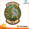 Custom Watch Shape Morale Soft PVC Rubber Patch with Your Logo