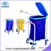 Hospital Laundry Trolley with Lid