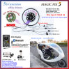 Bluetooth! Golden Motor Magic Pie 5 Hub Motor Electric Bicycle Conversion Kit