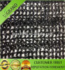 UV Resistant HDPE Black Color Round Yarn Monofilament Sun Shade Nets