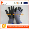 Ddsafety 2017 13 Gauge Grey Nylon Liner Black Ultra Thin Foam Nitrile Glove