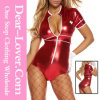 Mesmeric Medic Red Bodysuit Sexy Nurse Costume