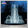 Outdoor Fountain Design Water Feature LED Christmas Lights