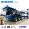 Tri Axle Airbag Suspension Container Frame Semi Truck Trailer