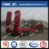 70t Lowbed Semi-Trailer with Concave Beam