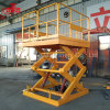 China Hot Sale Good Quality Hydraulic Stationary Scissor Lift 2 Ton with Ce ISO Certification