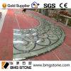 Round Green Onyx Parquet Flooring Tiles