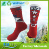 Make Your Own Red Sweat Middle Barrel Sport Sock Men