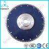 Hot Pressed Diamond Saw Blade with Flange for Cutting Granite