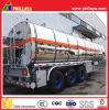 China Semi Tank Trailer Aluminium Tank for Edible Oil/Water Storage