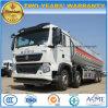 40 Tons Sinotruk HOWO 8X4 Heavy Duty Tanker Truck 40000 L Fuel Tank Truck