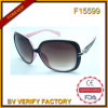 F15599 Italy Brand Big Frame Fashionable Women Sunglasses