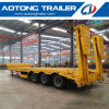 3 Axles 60 Tons Gooseneck Low Bed Trailer for Sale