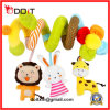 New Born Infant Cute Animal Soft Baby Stroller Crib Toys