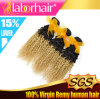 5A Grade 20′′best Quality Ombre Kinky Curl Human Hair Manufacturer