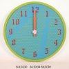 Chic RoHS Wooden Wall Clock in MDF