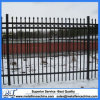 Used Welded Galvanized Black Powder Coating Wrought Iron Fence