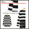 2015 Winter High Quality Fashion Ladies Round Neck Long Sleeve Pullover Knitted Clothing with Stripe (SK389)