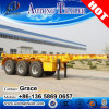China Manufacturer 2 Axle 3 Axles 20FT 40FT Skeletal Semitrailer Container Trailer for Sale