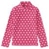 Custom Long Sleeve Girls Polar Fleece Shirt
