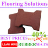 Durable Rubber Flooring Paver Tile Bone Shape