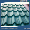 Green Corrugated Steel Sheet Wth Low Price
