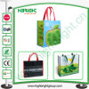 Laminated Woven Foldable Shopping Bag for Wholesale