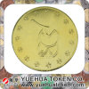 Customized Gold Plating& Soft Enamel Process Coin