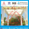Truss for Wedding Party Performance with Shape Customized, Aluminum Portable Truss