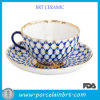 Delicate Imperial Ceramic Tea Cup with Gold Rim