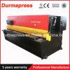 Guillotine Shear Machine / Cutting Machine / Hydraulic Shear Machine QC12k-4X6000 E200