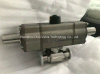 SS304 3PC Double Pneumatic Actuator Ball Valve for Food Industral