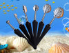 Makup Factory Patented Man-Made High Quality Sea Shell Makeup Brushes Set