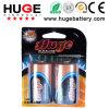 1.5V D Size Shrink Pack Alkaline Battery Lr20