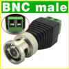 BNC Male Coax Connector for CCTV Camera